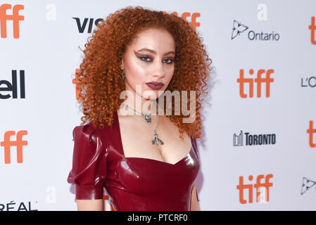 2018 Toronto Film Festival - 'Teen Spirit' - Premiere  Featuring: Ursula Holliday Where: Toronto, Canada When: 07 Sep 2018 Credit: Jaime Espinoza/WENN.com - Stock Photo