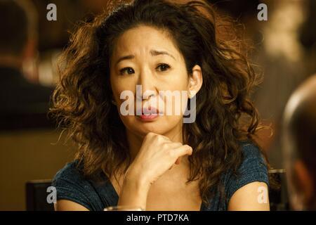 Original film title: KILLING EVE. English title: KILLING EVE. Year: 2018. Director: PHOEBE WALLER-BRIDGE. Stars: SANDRA OH. Credit: SID GENTLE FILMS / Album - Stock Photo