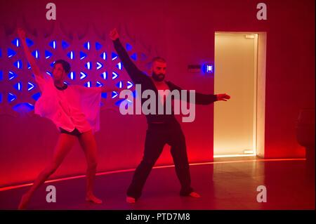 Original film title: EX MACHINA. English title: EX MACHINA. Year: 2015. Director: ALEX GARLAND. Stars: OSCAR ISAAC; SONOYA MIZUNO. Credit: DNA FILMS / Album - Stock Photo
