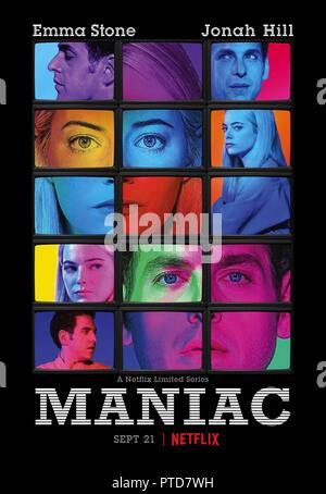 Original film title: MANIAC. English title: MANIAC. Year: 2018. Director: CARY FUKUNAGA. Credit: PARAMOUNT TELEVISION / Album - Stock Photo