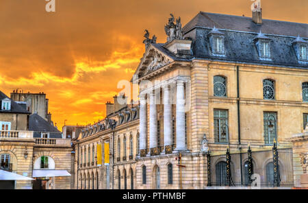 Palace of the Dukes of Burgundy in Dijon, France - Stock Photo