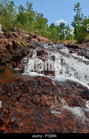 Buley Rockholes, Litchfield National Park, Northern Territory, Australia - Stock Photo