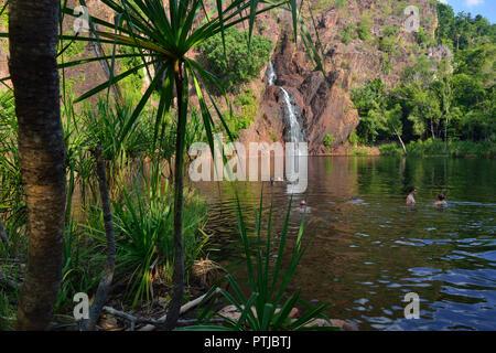 Wangi Falls, Litchfield National Park, Northern Territory, Australia - Stock Photo