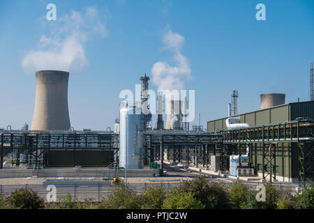 SNF UK plant at their Billingham production site on Teeside. - Stock Photo