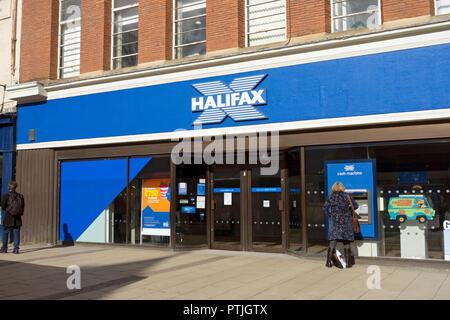 Halifax Bank. - Stock Photo