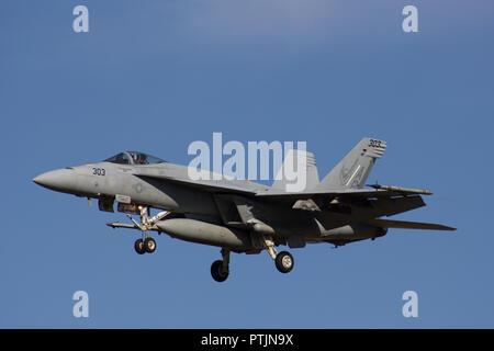 FA/18 Super Hornet - Stock Photo