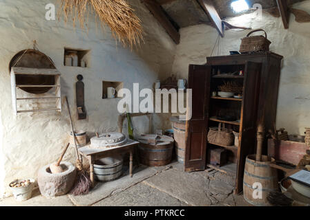 Corrigall Farm Museum, Orkney isles - Stock Photo