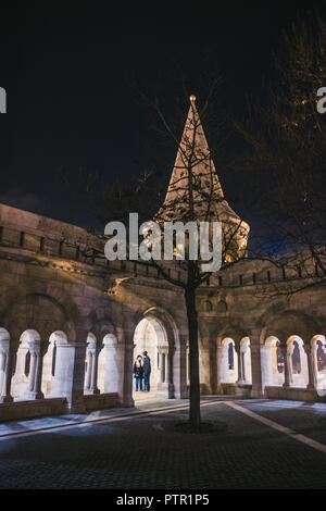 Budapest, Hungary. 17th Feb, 2017. Pictures of the city of Budapest. Budapest is the capital and the most populous city of Hungary. Budapest is both a city and county, and forms the centre of the Budapest metropolitan area Credit: Alessandro Bosio/Pacific Press/Alamy Live News - Stock Photo