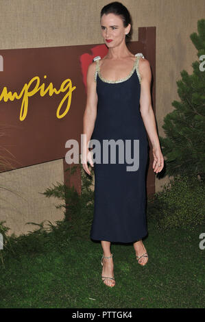 Los Angeles, USA. 10th Oct 2018. Juliette Lewis at the 'Camping' Los Angeles Premiere held at the Paramount Studios in Hollywood, CA on Wednesday, October 10, 2018.  held at the Loews Hotel in Hollywood, CA on Friday, June 22, 2018. Photo by PRPP / PictureLux Credit: PictureLux / The Hollywood Archive/Alamy Live News