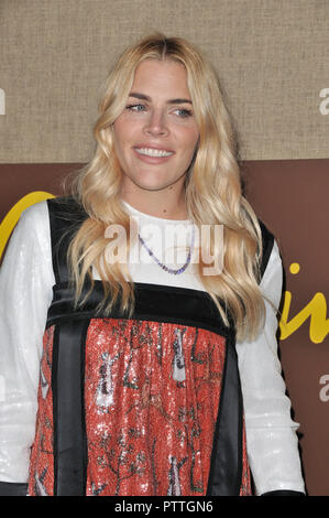 Los Angeles, USA. 10th Oct 2018. Busy Philipps at the 'Camping' Los Angeles Premiere held at the Paramount Studios in Hollywood, CA on Wednesday, October 10, 2018.  held at the Loews Hotel in Hollywood, CA on Friday, June 22, 2018. Photo by PRPP / PictureLux Credit: PictureLux / The Hollywood Archive/Alamy Live News - Stock Photo