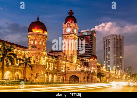 Sultan Abdul Samad Building, Merdeka Square, Kuala Lumpur, Malaysia - Stock Photo