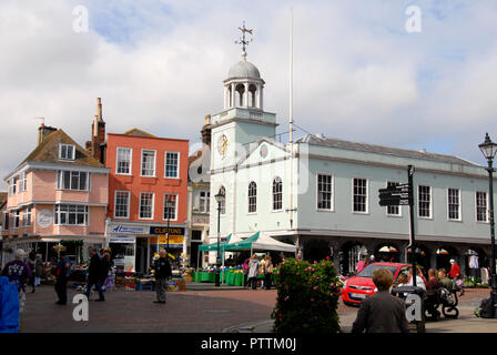 Market Place, Faversham, Kent, England - Stock Photo