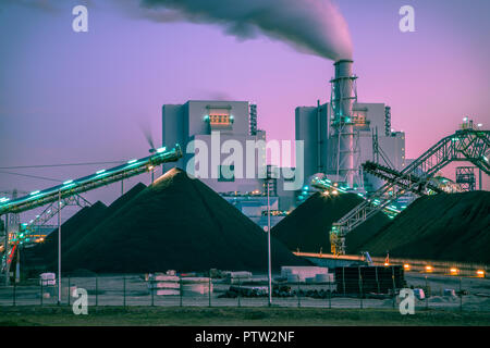 Coal used to play a vital role in electricity generation worldwide. Altough modern plants are much more efficient than before, it is still a very poll