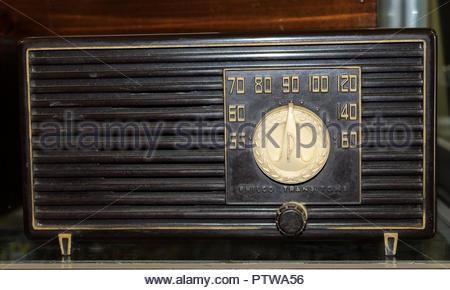 Philco Transitone Radio - Stock Photo