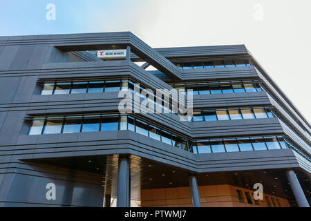 Strasbourg, France - September 09, 2018: hotel du departement of the department Bas-Rhin. It is the administrative center of the Bas-Rhin department - Stock Photo
