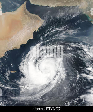 Tropical Cyclone Luban. Elements of this image are furnished by NASA - Stock Photo