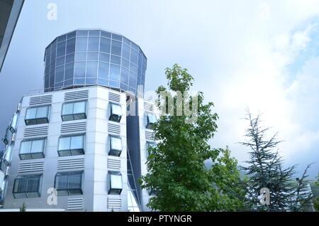 dajti tower hotel tirana albania - Stock Photo