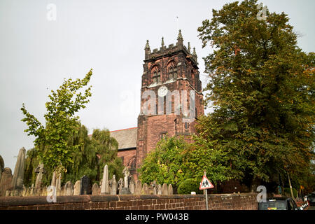 St Peters Church in Woolton Liverpool Merseyside England UK - Stock Photo