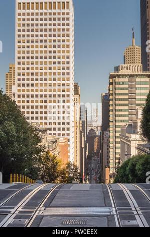 October 11, 2015, of San Francisco,CA : View of San Francisco from Nob hill,San Francisco,USACalifornia