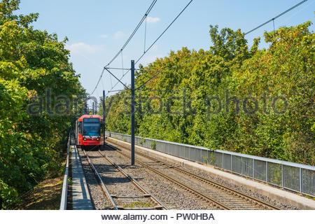 Köln, Stadtbahn - Stock Photo