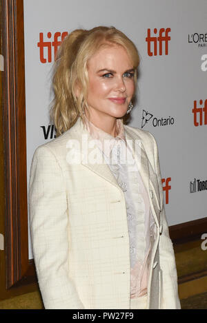 43rd Toronto International Film Festival - Destroyer - Premiere  Featuring: Nicole Kidman Where: Toronto, Canada When: 10 Sep 2018 Credit: Jaime Espinoza/WENN.com - Stock Photo