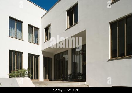 Wien, Haus Stonborough-Wittgenstein, Ludwig Wittgenstein 1926-1928 - Stock Photo