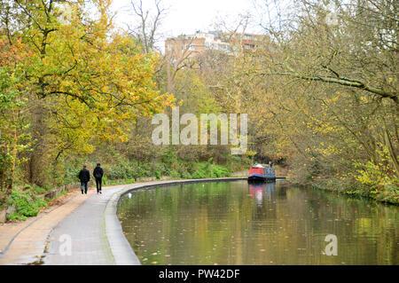 Around the UK - Regents Canal, London - Stock Photo