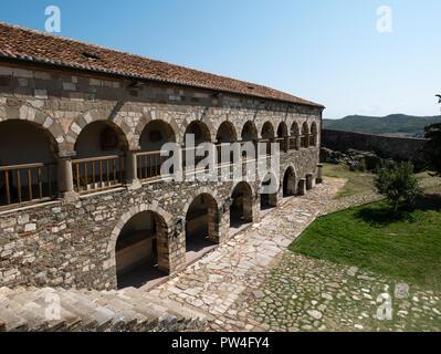 Museum, Apollonia, Fier County, The Republic of Albania. - Stock Photo