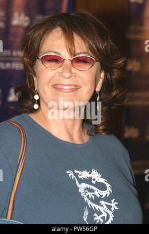 Roseanne Barr  06/22/04 2004 LOS ANGELES FILM FESTIVAL 'FAHRENHEIT 9/11' @ Directors Guild of America, Los Angeles Photo by Kazumi Nakamoto/Hollywood News Wire File Reference # 33683_847HNWPLX - Stock Photo