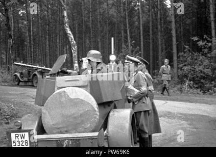 Reichswehr Heer Panzerspähwagen Kfz 13 - Stock Photo