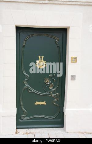 A Door Knocker And Doorbell Stock Photo 50741619 Alamy