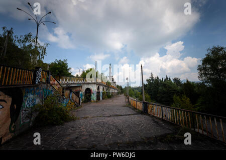 Photographic reportage of the abandoned city of Consonno (Lecco, Italy) - Stock Photo