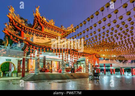 Thean Hou Temple, Kuala Lumpur, Malaysia - Stock Photo
