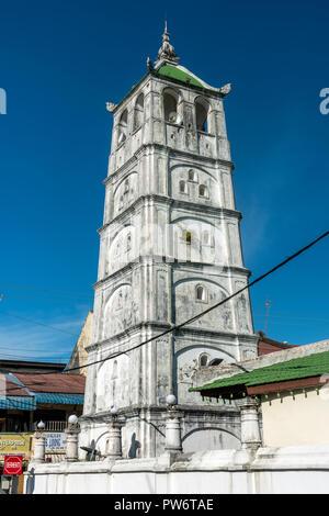 Kampung Kling Mosque, Malacca City, Malaysia - Stock Photo