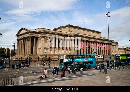 St Georges Hall in Liverpool city centre Merseyside England UK - Stock Photo