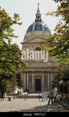 Chapel of Sainte Ursule of Sorbonne University in Latin quartier in Paris in France - Stock Photo