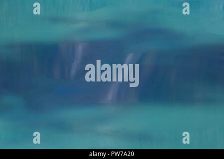 Water close up of a calm lake soft texture background - Stock Photo