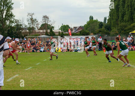 touch rugby European finals in Nottingham 2018 - Stock Photo