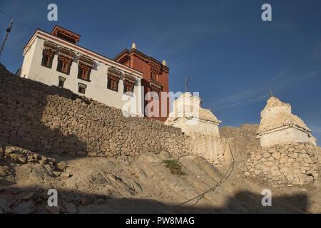 Namgyal Tsemo Monastery in beautiful light, Leh, Ladakh, India