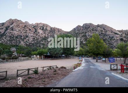 La Pedriza. Manzanares el Real. Sierra de Guadarrama. Madrid. España - Stock Photo