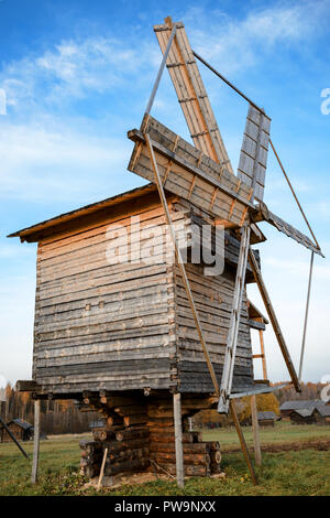 Windmill with shallow depth of field