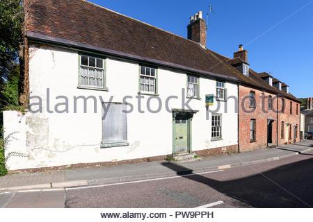 West Street, Bere Regis, Dorset, England, UK