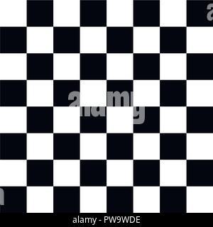 Realistic chess board. Vector. - Stock Photo