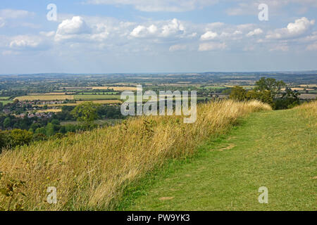 Bucks - Chiltern Hills - on Whiteleaf Hill - Stock Photo
