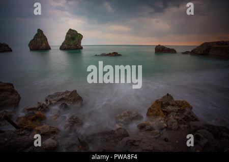 the two brothers, amalfitan Coast - Stock Photo