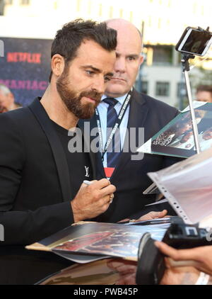 Maniac UK Netlix TV Premiere at the Southbank Centre, London  Featuring: Justin Theroux Where: London, United Kingdom When: 13 Sep 2018 Credit: WENN.com - Stock Photo