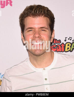 Hollywood, USA. 14th Oct, 2018. Perez Hilton attends The BeatBuds Host The BeatBASH Concert And Carnival at Hollywood Palladium in Los Angeles California on October 14 2018. Credit: The Photo Access/Alamy Live News - Stock Photo