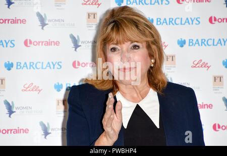 London, UK. 15th Oct 2018. Eve Pollard attends Women of the Year Lunch and Awards at Intercontinental Hotel Park Lane, London, UK. 15 October 2018. Credit: Picture Capital/Alamy Live News - Stock Photo