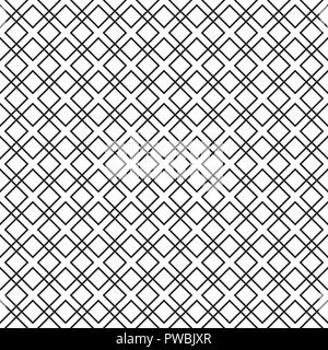 Seamless overlapping square pattern background - Stock Photo