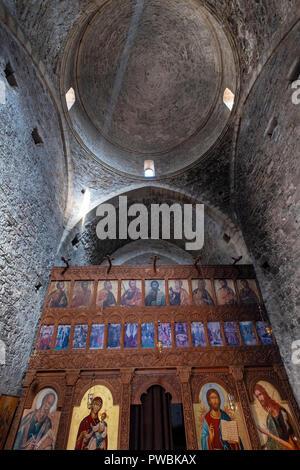 Panagia tou Sinti Monastery. Orthodox monastery dedicated to the Virgin Mary. Paphos district, Cyprus. - Stock Photo